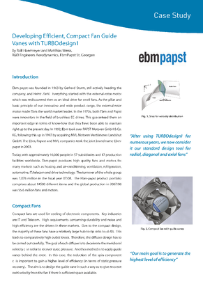 ADT Case Study - EbmPapst front page