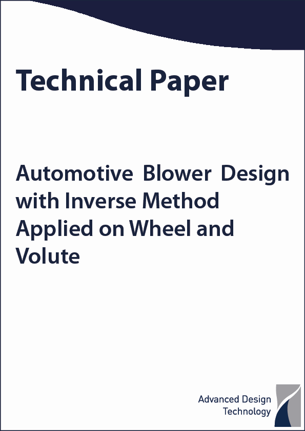Automotive Blower design with Inverse Method Applied to Wheel and Volute feat image-2