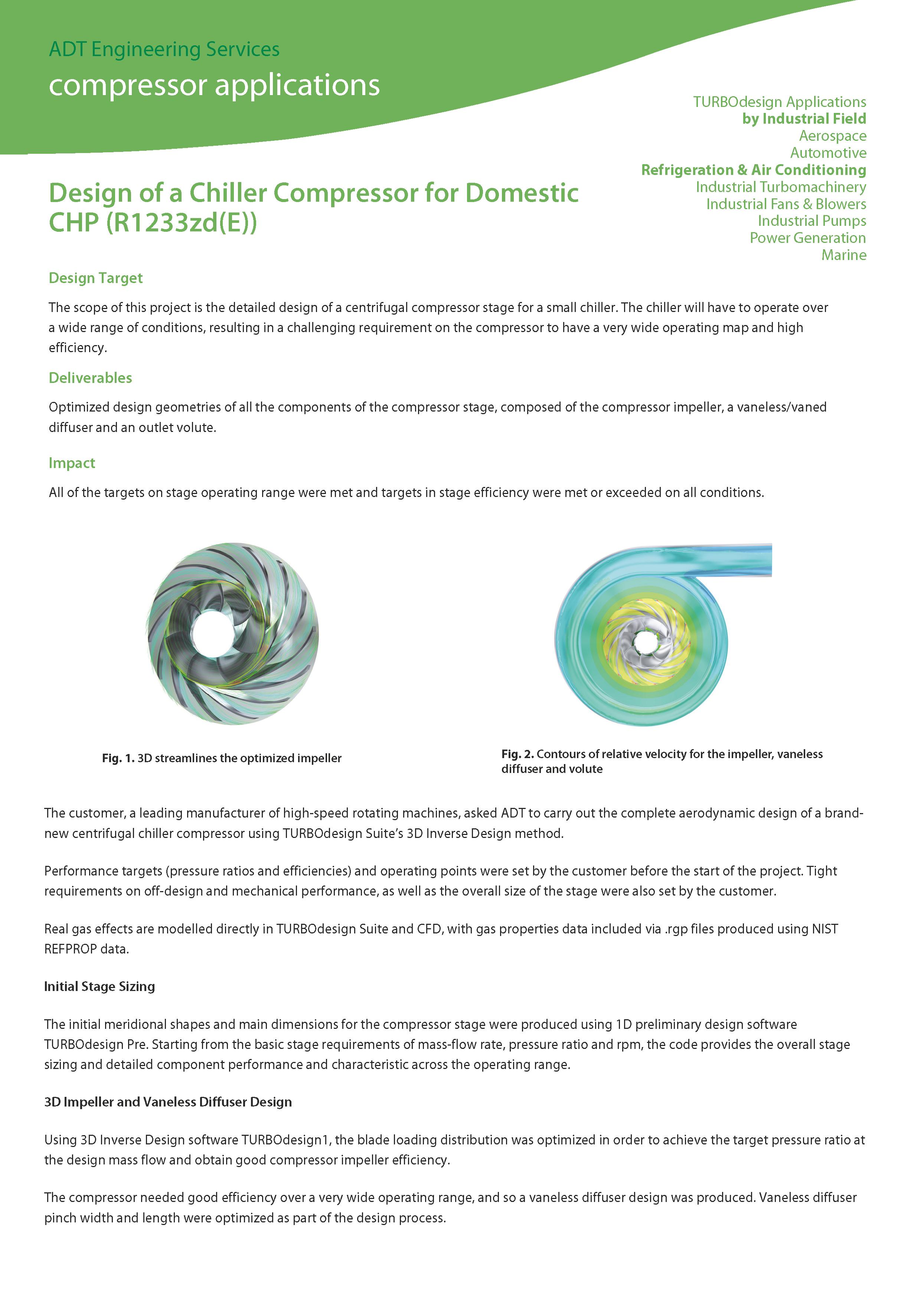 Chiller compressor front page PDF