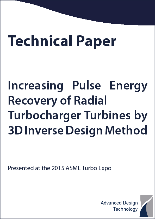 Increasing Pulse Energy Recovery of Radial Turbocharger Turbines